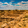 Indian ruins in petrified forest