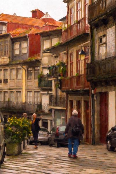 Oporto Street Scene