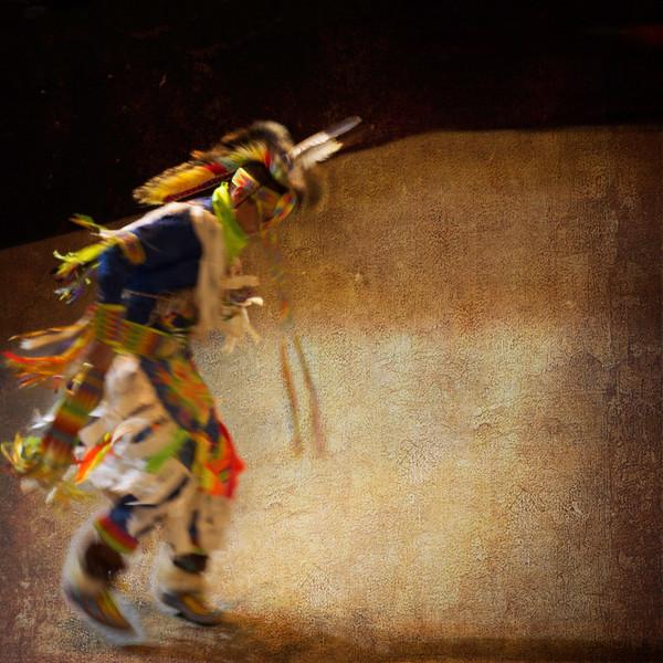 Seminole Tribal Dancer Series A