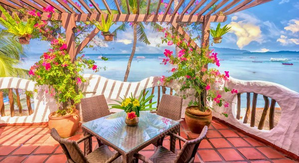 Balcony by the Sea