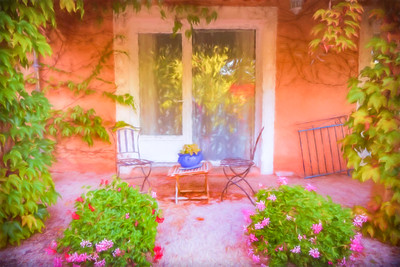 Balcony in Provence