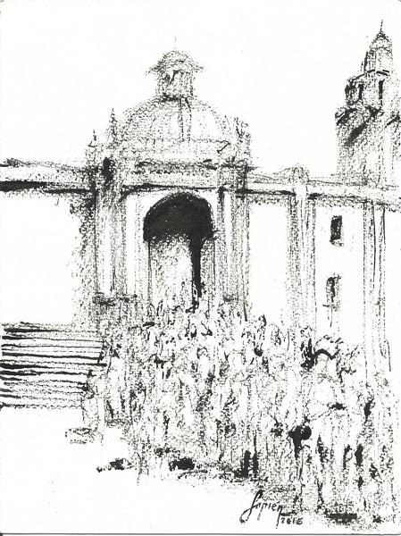 Acceso Iglesia T1 (tinta)