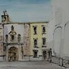 Iglesia TA3 (tinta & acuarela)