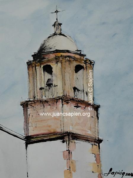 Iglesia TA2 (tinta & acuarela)