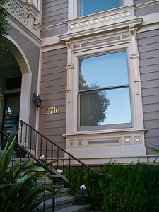 Detail of 2710 Divisadero.