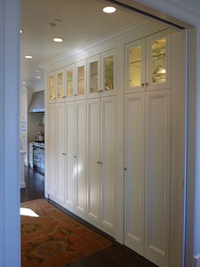 Pacific Avenue residence. Pantry Cabinetry.
