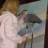 Great Blue Heron (acrylic on canvas)