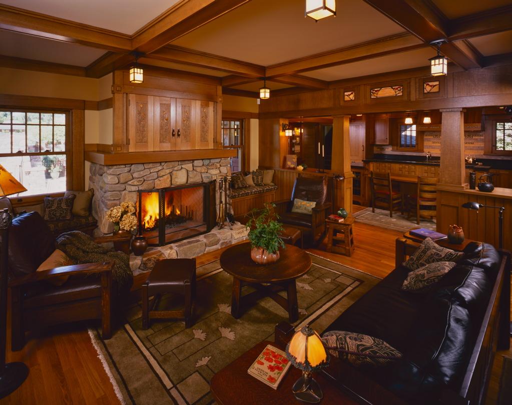 Palo Alto Residence. Living Room, finished.