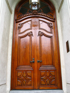 Pacific Heights Residence. Door was stripped and refinished.