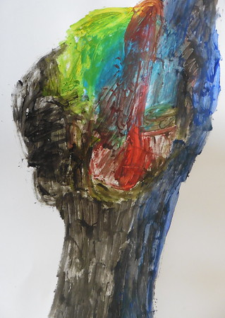 _00072 - Acrylic on Paper - 30 x 21cm - 2018