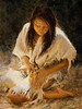 """Moccasin""  Fine Giclee prints available as 16x12 image on 19x13 paper, S/N, Lt. Ed."