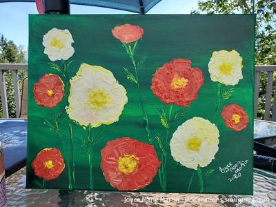 poppies impressionism