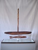 BETWEEN WORLDS ~ PASSAGE<br /> Koa, Kamani, Red Cedar, Acrylic Mirror, Steel<br /> H 29 x W 8 x L 28            2012<br /> <br /> 3200.