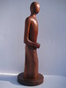 Meditation Series ~ QUIET HEART<br /> Red Cedar    right side<br /> H 15 x W 5 x L 5<br /> $695