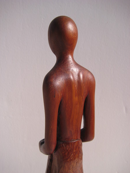 Meditation Series ~ QUIET HEART<br /> Red Cedar    detail back top<br /> $695.