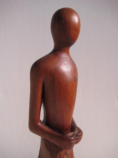 Meditation Series ~ QUIET HEART<br /> Red Cedar    detail right side top<br /> $695
