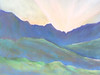 God's Country, Waimanalo<br /> Original soft pastel<br /> 2005<br /> 16 x 20 frame $125<br /> 8x10 matted prints $25