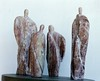 "Guardian Series: "" Guardian Circle""  Utah Alabaster  <br /> Artist's Collection, Bronze Edition available for casting"