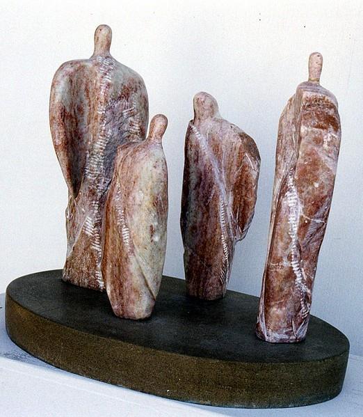 """Guardian Circle""  Utah alabaster"