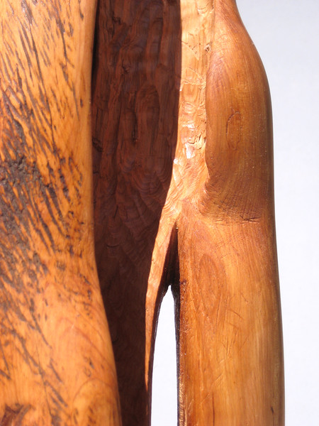 SOULMATES<br /> NM Saltillo Cedar  $1100  SOLD!<br /> scratch marks to emphasize human emotion