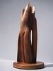 "SOULMATES  <br /> Saltillo Cedar <br /> H 17 x W 6 x W 6""    2010  <br /> Prototype for enlarged cast in bronze or aluminum<br /> $2200."