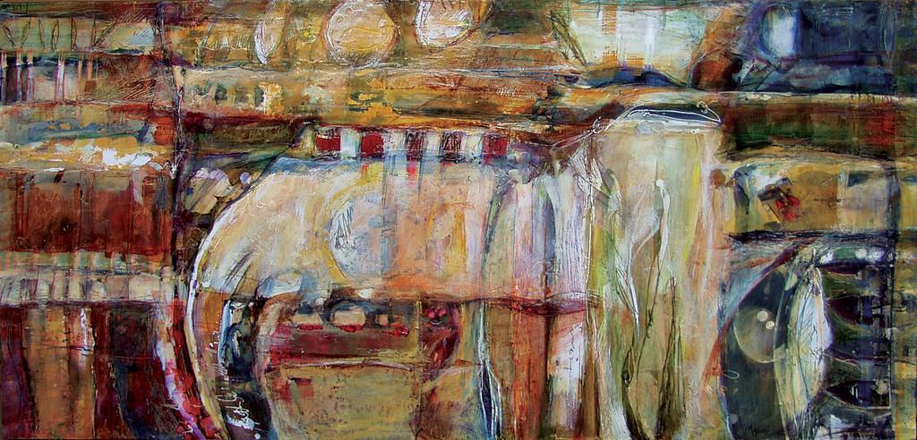 Sigillo, 48 x 24 inches, sold