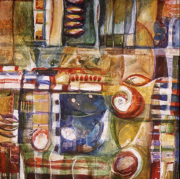 Fa Vedere, 32 x 32 inches, sold