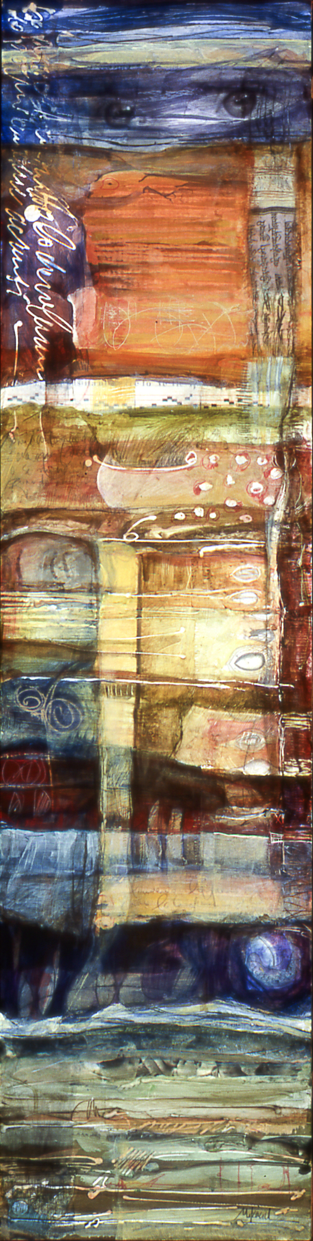 Guarda Tutto, 12 x 48 inches, sold