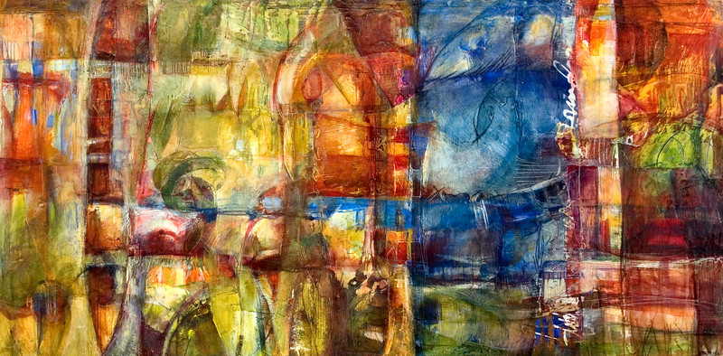 No Puede Saber, 48 x 24 inches, sold