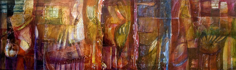 Arriba Abajo, 12 x 60 inches, sold