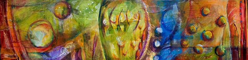 Su Amigo, 12 x 48 inches, sold