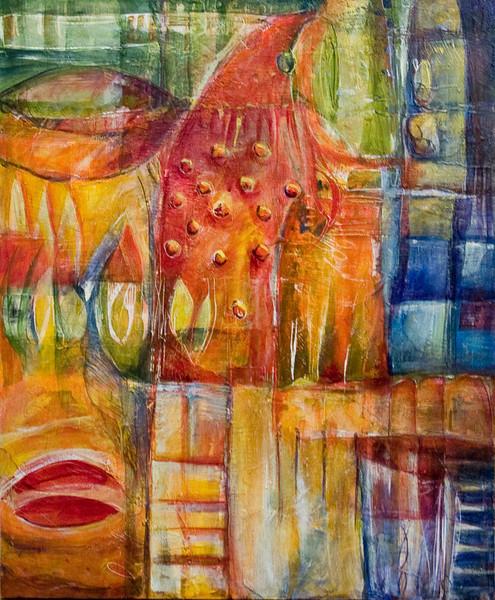 Scelta, 36 x 30 inches, sold