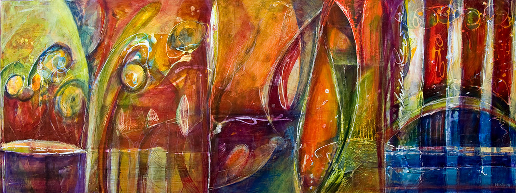 Cercando Eta, 48 x 18 inches, sold