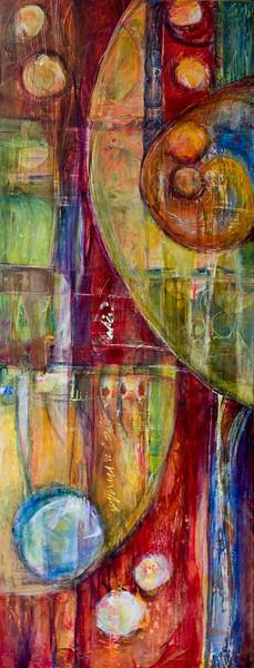 Sulla Fede, 48 x 18 inches, sold