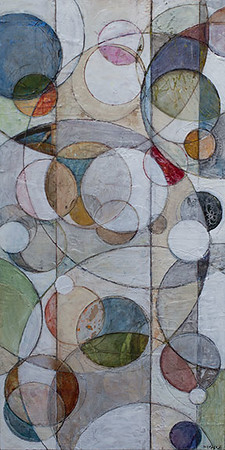 Vedere, 24 x 48 inches, sold
