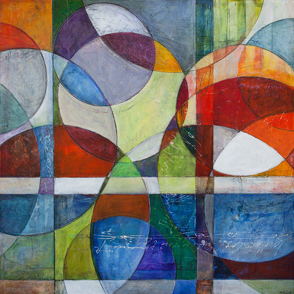 La Positiva, 32 x 32 inches, sold