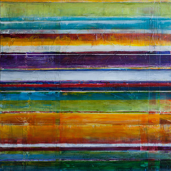 Menomale, 30 x 30 inches, sold