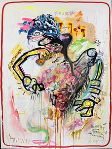 147 - Gertrude Stein - 130x90cm