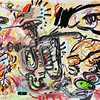 241 - Clash of nassau 120x190cm
