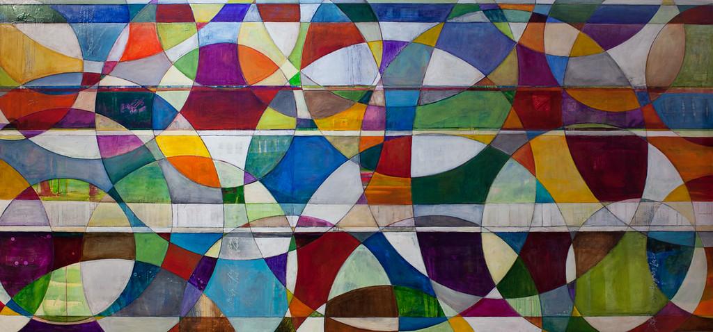 Rischio, 57 x 112 inches, sold