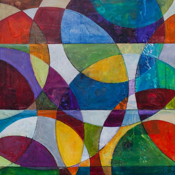 Sposando, 30 x 30 inches, sold