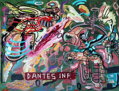 240 - Dantes Inf - 200x160cm
