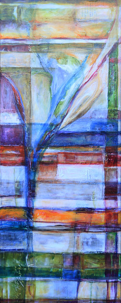 Positivita' Legata, 24 x 60 inches, sold