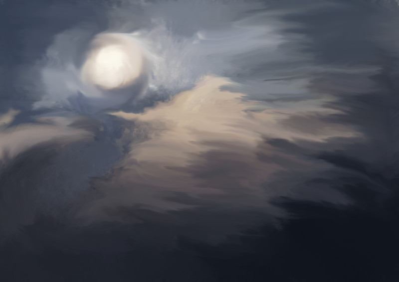 Clouds and Moonlight