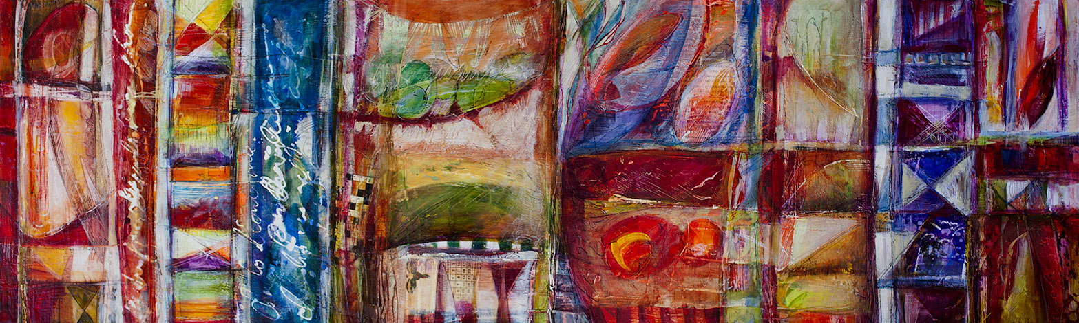Touchstone, 12 x  48 inches, sold