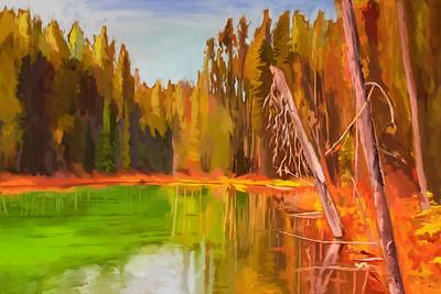 Herbert Lake Reflections 2