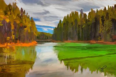 Herbert Lake Reflections 1