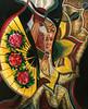 KOREAN DANCER<br /> Acrylic on Masonite<br /> 27 X 32<br /> <br /> SOLD through Main Cross Gallery, Lexington, KY