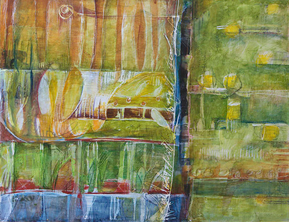 Stories in Green, 16 x 20, sold