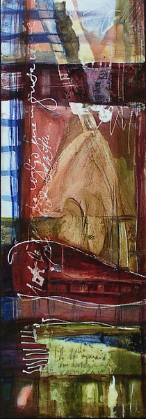 Momenti Nascosti, 7 x 20 inches, sold